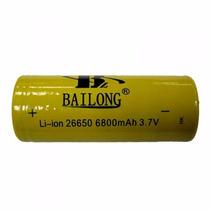 Bateria Recarregavel Bl26650 6800mah 3,7v Li-ion 1ª Linha