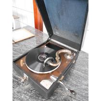 Gramofone/ Gramofola Antigo Funcionando Déc 10/20 #1795