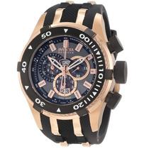 Relógio Invicta 0978 Reserve Bolt Suíço Cronógrafo Banhado
