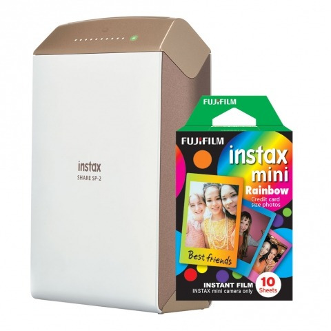 Impres Instax Share Wi - fi Fujifilm Sp - 2 + Filme 10 Poses