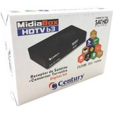 Receptor + Conversor Midiabox B3 Century Midia Box