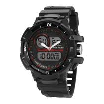 Relógio Masculino Mormaii Action Mo9789/8r_ - Preto / Ver...