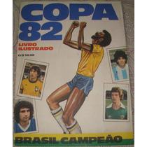 Album Copa Espanha 1982 - Incompleto Rarissimo Exc. Estado