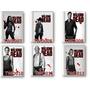 The Walking Dead- Kit Com 2 Cadernos 10 Matérias.