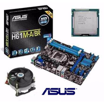 Kit Asus H61 M-a/br Hdmi + Core I5 3470 3.6 Ghz + Cooler
