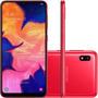 Celular Samsung A105m Galaxy A10 Duos Tela 6.2 32gb Vermelho