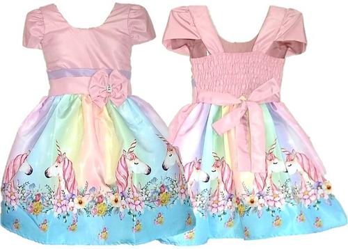 7c145bb08 Kit 15 Vestido Temático Infantil 1 A 7 Anos Particular à venda em ...