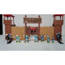 Forte Apache Super Batalha 34pç Brinquedos Antigos Gulliver