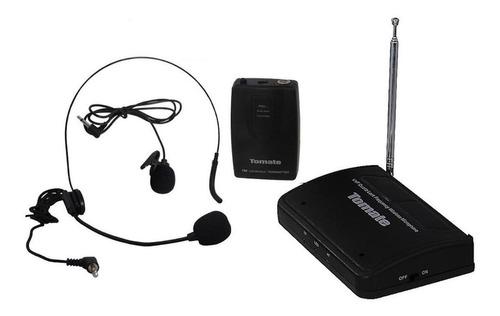 Microfone Com Acessórios Tomate Mt-2201 Dinâmico