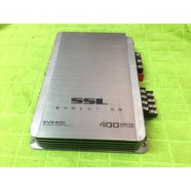 Módulo Amplificador Soundstorm Ssl Ev4.400 4 Canais 400w