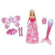 Barbie Mundo Da Fantasia - Vestido Real - Mattel