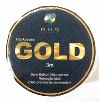 Fita Adesiva - Gold 03 Metros - Prótese Capilar, Perucas
