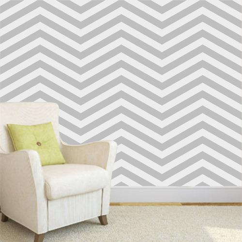 Adesivo de parede decorativo revestimento e papel de for Precio papel pared decorativo