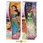 Tiana E Jasmine Princesa Sparkling - Original Mattel 2014