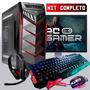 Pc Completo Gamer Com Wi-fi, + 30 Jogos, Promoção Pascoa!