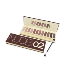 Pallete Nude 2 Vivai Estojo Kit 12 Sombras = Naked Urban 02