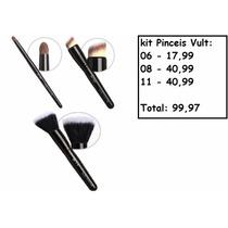 Kit Pinceis Vult 06, 08 E 11