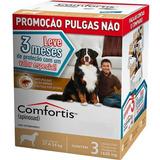 Combo Antipulgas Comfortis Elanco Cães De 27 A 54kg 3 Comp.
