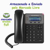 Kit 10 Telefone Ip Voip Gxp1610 - Com Nota Fiscal Ml Full #