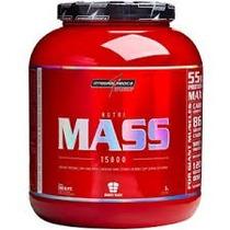 Nutri Mass 15000 3kg Baunilha Integralmedica ( + Protetor )