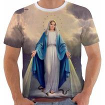 Camiseta Ou Baby Look Ou Regata Nossa Senhora Das Gracas