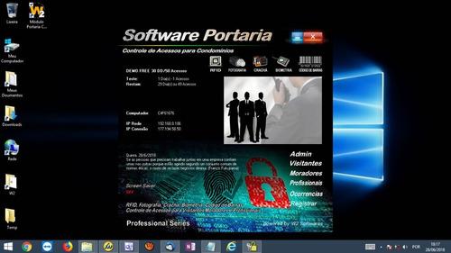 Software Controle De Acesso Para Condomínios Com Biometria. R  690 935e60273e