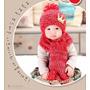 Toucas E Chapéu De Inverno Lã Criança Infantil