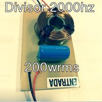 Divisor Frequência Titanio Oversound Selenium 2k 12db/8 200w
