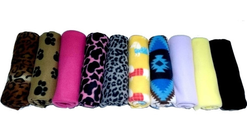 Kit 15 Cobertor Manta Pet Para Cães E Gatos
