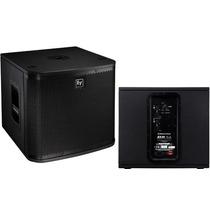 Caixa Subwoofer Grave Ativo Electro Voice Zx A1 Sub 800 W
