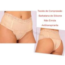 Cinta C/ Renda Calcinha Modeladora T: M Cor Branca