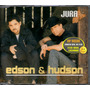 Edson E Hudson Cd Single Jura - Raro
