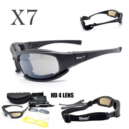 Óculos Daisy X7 Tático Airsoft Militar Policial Brasil. R  85 a7eb295c24