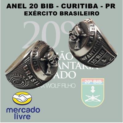 aae1d9071a Anel 20º Bib - Boinas Pretas - Curitiba - Pr