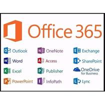 Assinatura Vitalícia Office365 Até 5pcs Ou 5macs Office2016