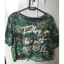 Camiseta Camila Coutinho Para Riachuelo Brasil