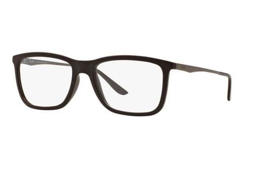 61c903a8223e6 Armação Oculos Grau Ray Ban Rb7061l 5413 Lente 54mm Marrom
