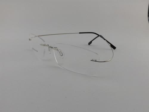 Armação P  Óculos De Grau Sem Aro Em Titanium - Promoção Vip 344010908e