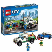 Lego City 2015 Pickup Tow Truck Review! Set 60081