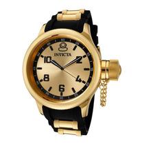 Relógio Invicta 1438 Russian Diver Ouro 18k Grande 52mm !