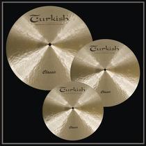 Prato Liga B20 - Turkish Cymbals Set Classic
