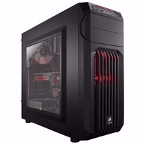 Gabinete Corsair Gamer Carbide Spec-01 Red Led Mid Tower