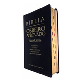 Bíblia Obreiro Aprovado C/ Harpa Média Índice Bíblia Sagrada