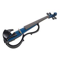 Yamaha Sv-200kblu Silent 4/4 Violin Only Ocean Blue