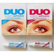 Cola Cílios Postiços Duo 9 Gramas Transparente A Prova Dágua