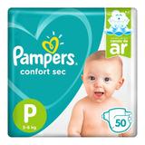 Fralda Infantil Pampers Confort Sec