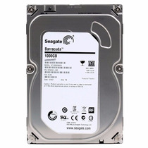 Hd Seagate Barracuda 1tb 1000gb 7200rpm - Novo - Zero