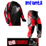 Camisa E Calça Insane Infantil Pro Tork Motocross Kids
