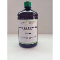 Óleo De Copaíba - 1 Litro - Frete Grátis - 100% Puro