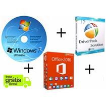 Cd De Instalação Windows 7 32/64 + Brindes Frete Grátis